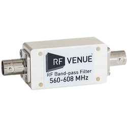 RF Venue RF Band-Pass Filter (560 to 608 MHz)