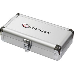 "Odyssey Innovative Designs Krom Series 7.75 x 1.5 x 3.1"" Compact Utility Accessory Case (Silver)"