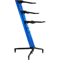 STAY Tower Series 46 Triple-Tier Keyboard Stand (Blue)