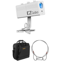 CHAUVET DJ EZ Gobo LED Gobo Projector Kit with Carry Bag and Safety Cable