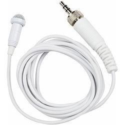 Tascam TM-10LW - Lavalier Microphone for DR-10L Digital Recorder (White)