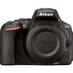 Nikon D5500 DSLR Camera (Refurbished, Body Only, Black)