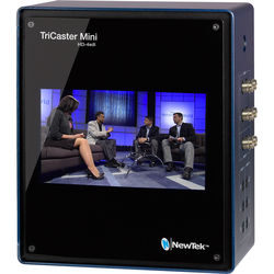 NewTek TriCaster Mini Advanced HD4 SDI Bundle with Control Surface & Travel Case
