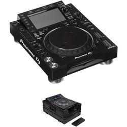Pioneer DJ CDJ-2000NXS2 Kit with Black Flight Case