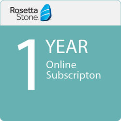 Rosetta Stone 12-Month Online Subscription (1-User License, Download)