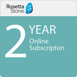 Rosetta Stone 24-Month Online Subscription (1-User License, Download)