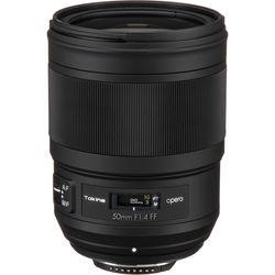 Tokina opera 50mm f/1.4 FF Lens for Nikon F