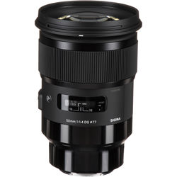 Sigma 50mm f/1.4 DG HSM Art Lens for Sony E