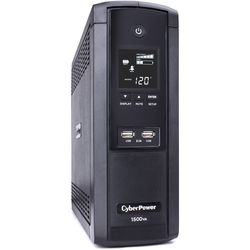 CyberPower BRG1500AVRLCD Intelligent LCD Series Uninterruptible Power Supply