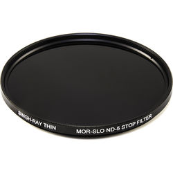 Singh-Ray 82mm Thin Mor-Slo Solid Neutral Density 1.5 Filter with Front Filter Threads (5 Stops)