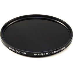 Singh-Ray 82mm Thin Mor-Slo Solid Neutral Density 3.0 Filter with Front Filter Threads (10 Stops)