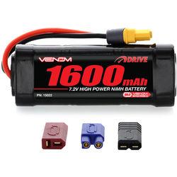 Venom Group Venom 7.2V 1600mAh 6 Cell NiMH Battery With Universal Plug System