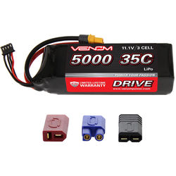 Venom Group Venom 35C 3S 5000mAh 11.1V Lipo Battery With Universal Plug System