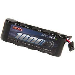 Venom Group Venom 6V 1600mAh 5-Cell Flat Receiver NiMH Battery
