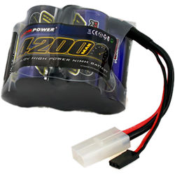 Venom Group Venom 6V 4200mAh 5-Cell Hump Receiver NiMH Battery For Hpi Baja