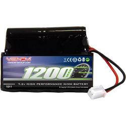 Venom Group Venom 7.2V 1200mAh 6 Cell NiMH Battery With Micro Molex Plug