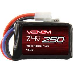 Venom Group Venom 15C 2S 250mAh 7.4V Lipo Battery For Rc Losi 1/24