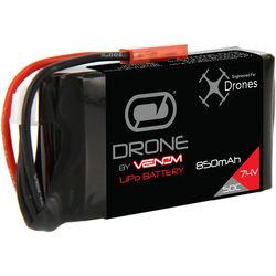 Venom Group Venom 50C 2S 850mAh 7.4V Lipo Drone Battery With Jst Plug