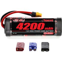 Venom Group Venom 7.2V 4200mAh 6 Cell NiMH Battery With Universal Plug System