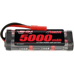 Venom Group Venom 7.2V 5000mAh 6 Cell NiMH Battery With Hxt 4.0Mm Plug