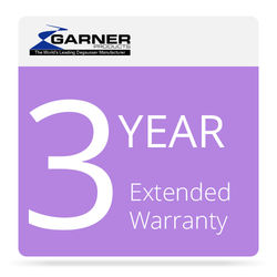 Garner 3-Year Extended Warranty for HD-2X Degausser
