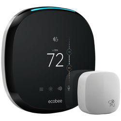 ecobee ecobee4 Wi-Fi Voice-Enabled Thermostat