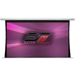 "Elite Screens Saker Tab-Tension Series 41.2 x 73.2"" 16:9 Screen with MaxWhite Fiberglass Surface"