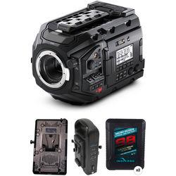 Blackmagic Design URSA Mini Pro Kit with 2 x Mini-Series Batteries (V-Mount)