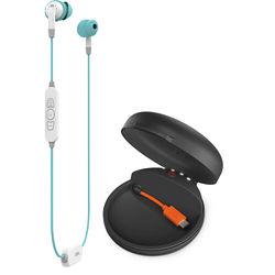 JBL Inspire 700 Wireless Sport In-Ear Headphones for Women with Charging Case (Aqua)