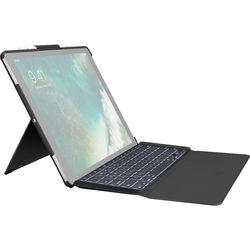 """Logitech SLIM COMBO Keyboard Case for 2nd-Gen Apple iPad Pro 12.9"""" (Black)"""