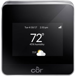 Interlogix Carrier Cor Performance Series AC/HP Wi-Fi Thermostat