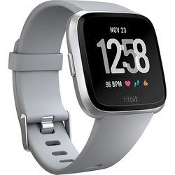 Fitbit Versa Fitness Watch (Gray/Silver Aluminum)