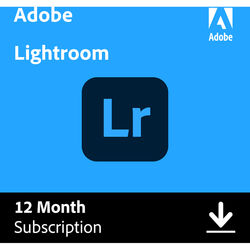 Adobe Photoshop Lightroom CC (12 Month Subscription, Download)