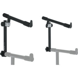 Gator Cases 3rd Tier Add-On for Frameworks Deluxe 2-Tier X-Style Keyboard Stand (Black)