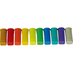 MIPRO Multi-Colored ID Rings for ACT-5H/-7H Handheld Transmitters (10-Pack)