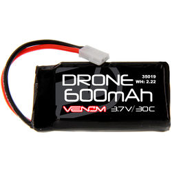 Venom Group 30C 1S 600mAh LiPo Micro Drone Battery with Micro Losi Connector (3.7V)