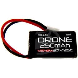 Venom Group 25C 1S 250mAh LiPo Micro Drone Battery with Micro Losi Connector (3.7V)