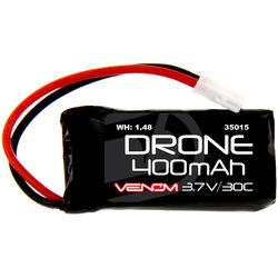 Venom Group 30C 1S 400mAh LiPo Micro Drone Battery with Micro Losi Connector (3.7V)