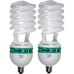 ALZO 120V CFL Video-Lux Photo Light Bulb (5600K, 85W, 2-Pack)