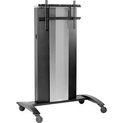Peerless-AV SmartMount Collaboration Cart with Vertical Lift for 90.2 to 154 lb Display