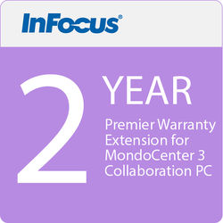 InFocus 2-Year Premier Warranty Extension for MondoCenter 3 Collaboration PC