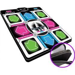 "HYPERKIN DDR Game V2.0 Super Deluxe Dance Pad with 1"" Foam Insert for Sony PS2/PS1 Systems"