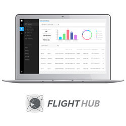 DJI FlightHub Advanced Software for Managing Select Drones (1-Year)