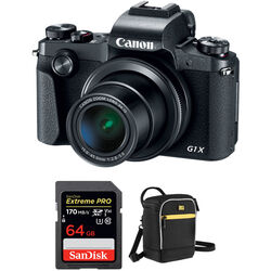Canon PowerShot G1 X Mark III Digital Camera with Accessories Kit