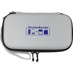 ShutterBands Batteries and Cards Case for Sony NP-FW50 Battery (Black)