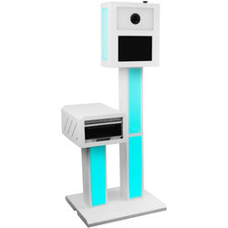 Odyssey Innovative Designs PBSC01 Photo Party Booth with Built-In Modeling / Strobe LED