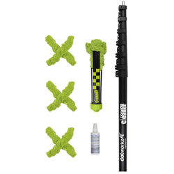 Dotworkz DomeCleanerPRO 40 Series Indoor/Outdoor Lens Cleaning Kit with 7-40' Extension Pole