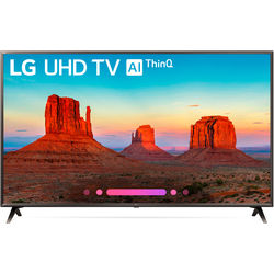 "LG UK6300PUE Series 55""-Class HDR UHD Smart IPS LED TV"