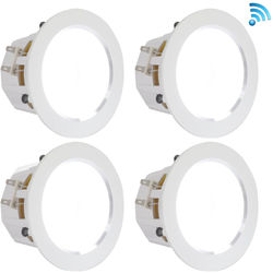 "Pyle Pro PDIC4CBTL4B 4"" Bluetooth Ceiling / Wall Speaker Kit (4-Pack)"