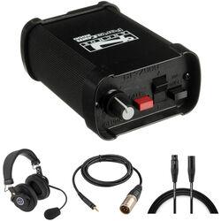 PortaCom Dual-Ear Headset 2-Way Communications Kit